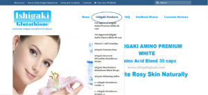 How to order Ishigaki Glutathione products
